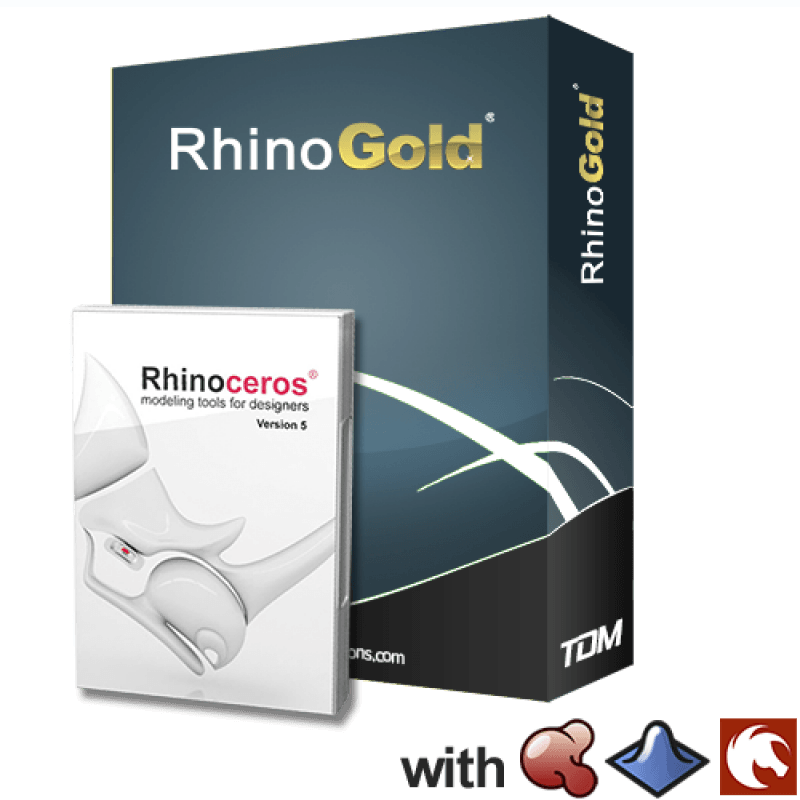 RhinoGold 5 0 (including Rhino) - Chillipepper 3D